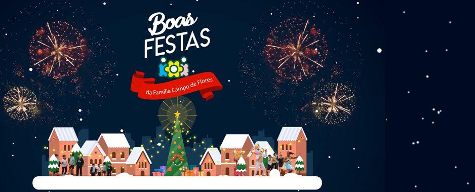 Festas Felizes – Família Campo de Flores