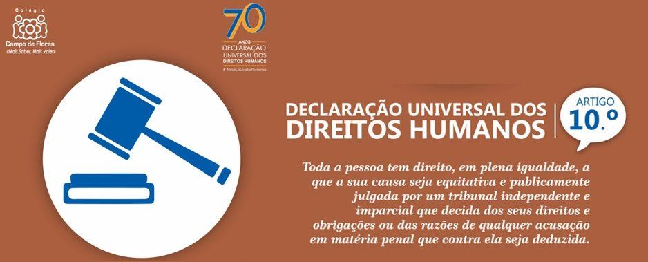 10º Artigo da Declaração Universal dos Direitos Humanos