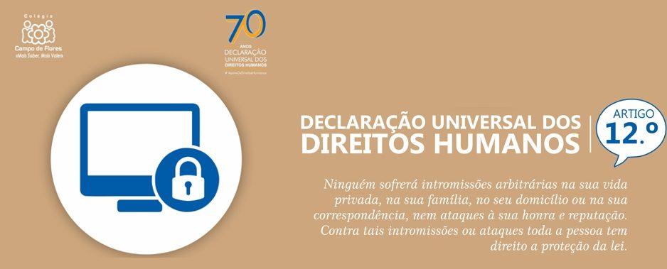 12º Artigo da Declaração Universal dos Direitos Humanos