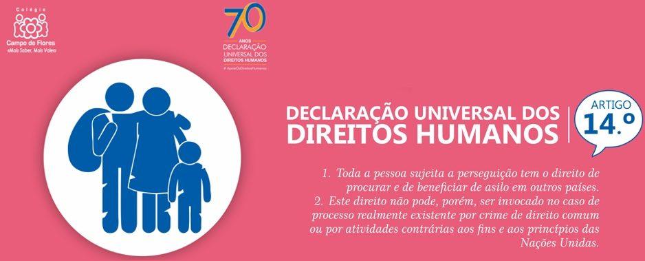 14º Artigo da Declaração Universal dos Direitos Humanos