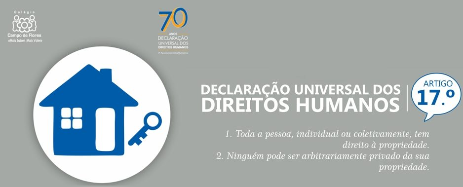 17º Artigo da Declaração Universal dos Direitos Humanos