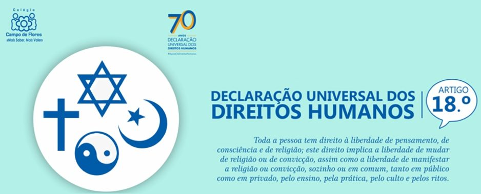 18º Artigo da Declaração Universal dos Direitos Humanos
