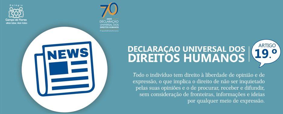 19º Artigo da Declaração Universal dos Direitos Humanos