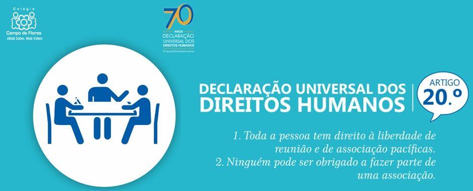 20º Artigo da Declaração Universal dos Direitos Humanos