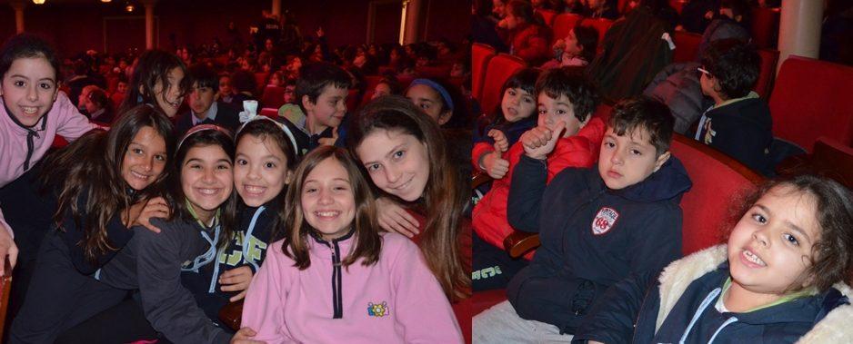 1º e 4º anos no Teatro Politeama