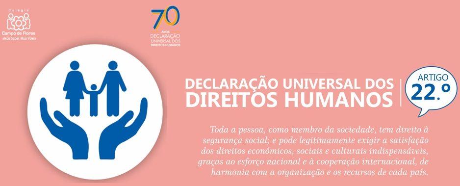 22º Artigo da Declaração Universal dos Direitos Humanos