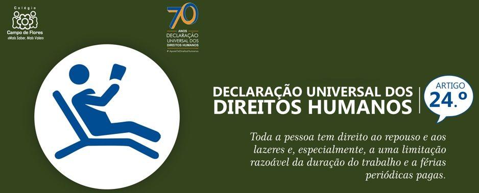 24º Artigo da Declaração Universal dos Direitos Humanos