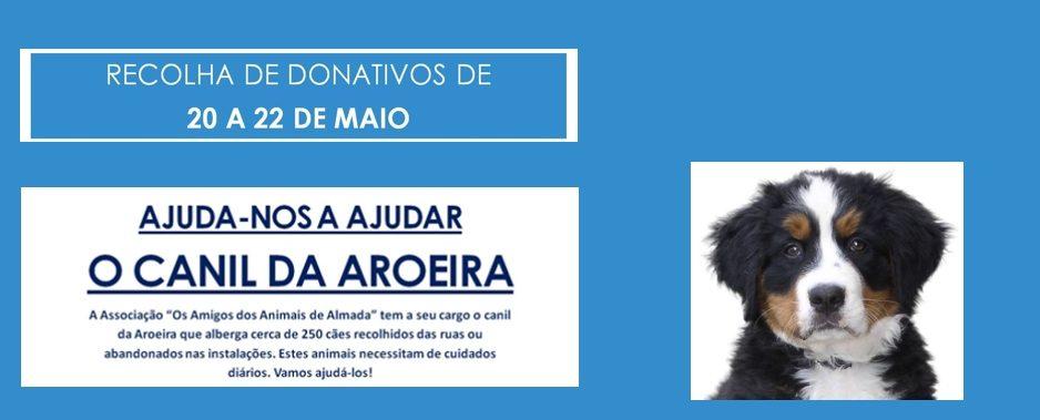 VAMOS AJUDAR O CANIL DA AROEIRA!