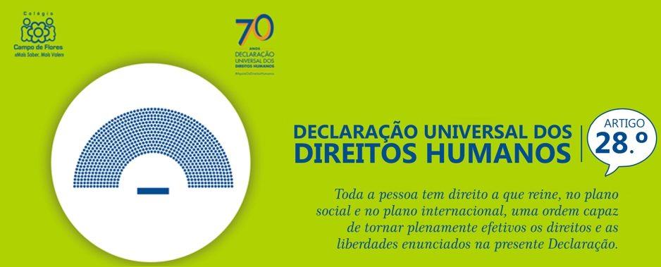 28º Artigo da Declaração Universal dos Direitos Humanos