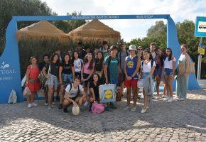 Dia de Turma 11ºA no Lagus Campo Aventura-Palmela