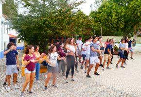 Dia de Turma 11º B e 11ºC no Campo Aventura-Óbidos