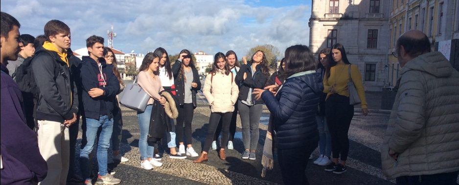 Visita de Estudo ao Convento de Mafra