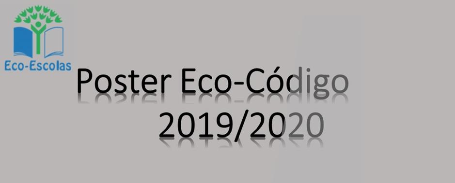 Poster Eco-Código 2019/2020