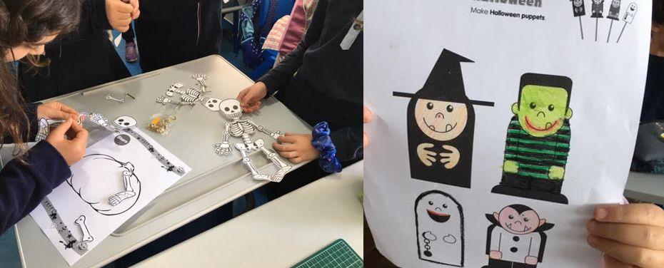 Halloween nas aulas de inglês